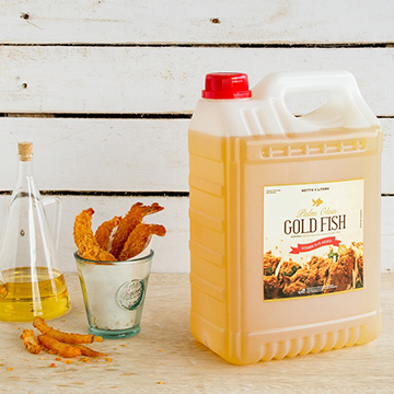 Palm Olein - GoldFish 5lt Natural Jerrycan