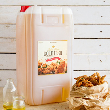 Palm Olein GoldFish 25lt Natural Jerrycan